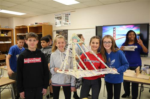 Holland Middle School Holds Annual Innovation Day for STEM Fields